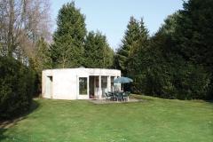 Buitenaanzicht C4-5 bungalow