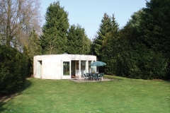 4 persoons bungalow met grote tuin