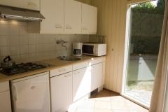 Keuken van bungalow c4