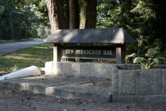 Ingang van onze bungalowpark