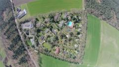 Luchtfoto van ons park