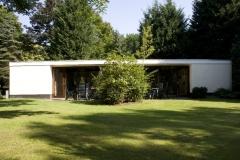 Buitenaanzicht van de bungalows
