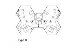 Type B4 plattegrond