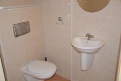 WC in de badkamer